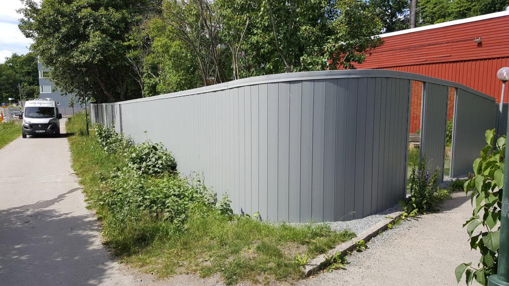 Bullerskydd vid förskolan Sätra Gård