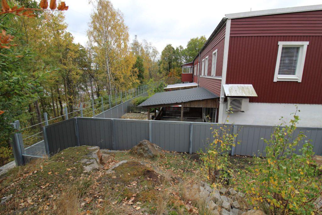 Bullerskydd för bostäder på Skärholmen