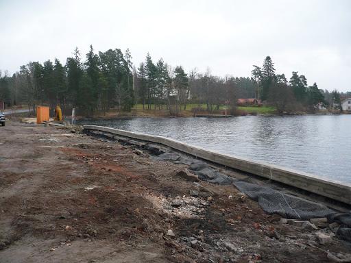 Kajreparation och förstärkning Lennartsfors