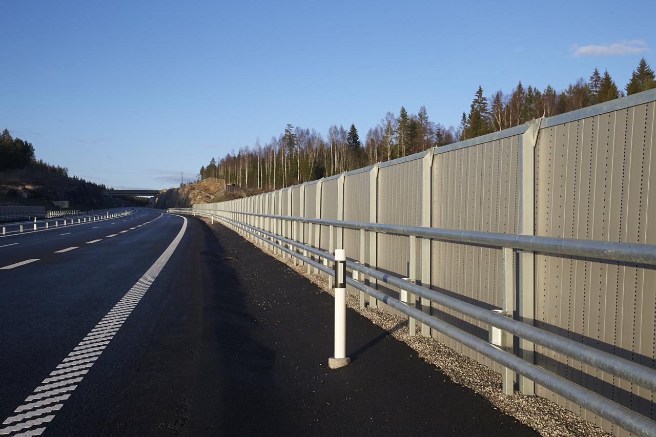 Birstaverken, E4 Sundsvall