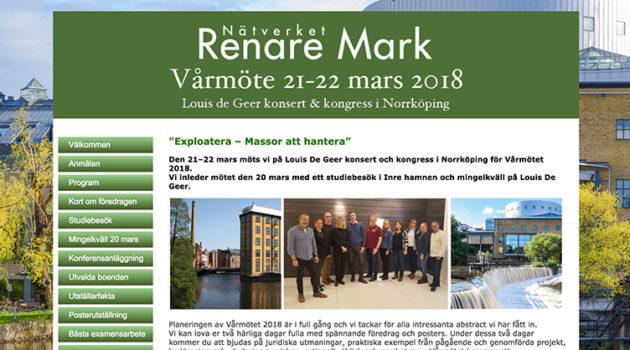 Vårmöte 21-22 mars i Norrköping